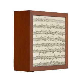 Bach Cello Suite Music Manuscript Desk Organiser