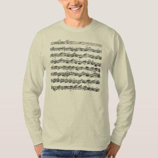 Bach Cello Suite Music Manuscript T-Shirt