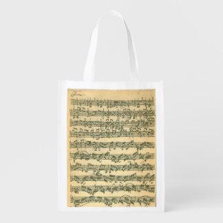 Bach Chaconne Manuscript for Solo Violin