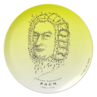 Bach: Face the Music Dinner Plate