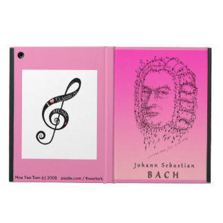 Bach Face the Music iPad Air Cases