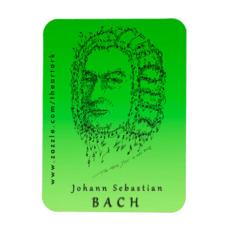 Bach: Face the Music Magnet