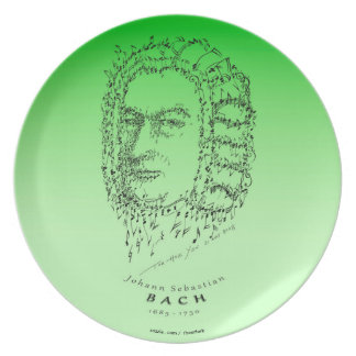 Bach: Face the Music Party Plate