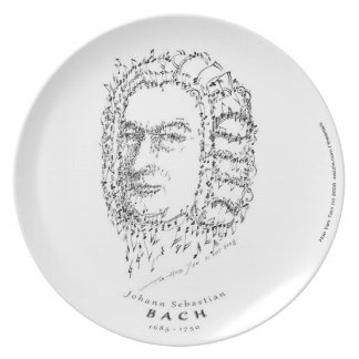 Bach: Face the Music Party Plates
