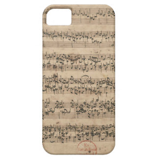 Bach Manuscript Case For The iPhone 5
