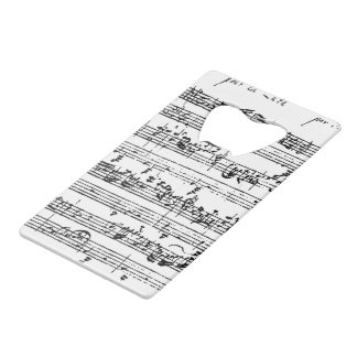 Bach music bottle opener