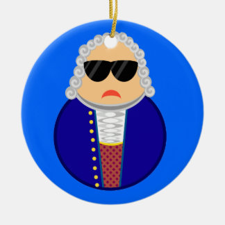 Bach Music Composer Classical Musician Gift Ceramic Ornament