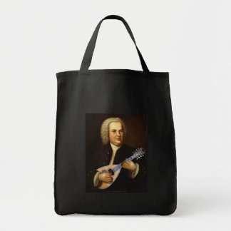 Bach on Mandolin Tote Bag