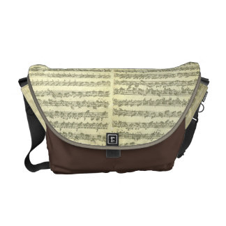 Bach Partita No. 3 for Solo Violin in Manuscript Courier Bag