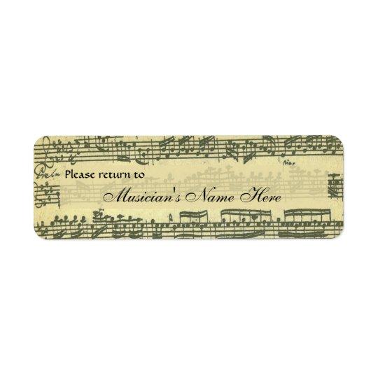 Bach Partita Property Label
