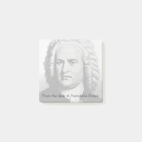 Bach Post-it Notes