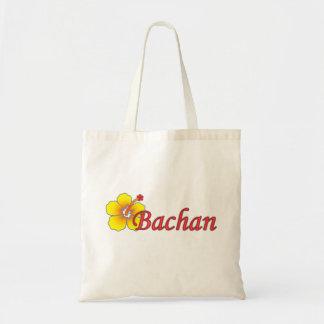 Bachan's hibiscus grocery bag