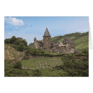 Bacharach, Germany, Stahleck Castle, Schloss Card
