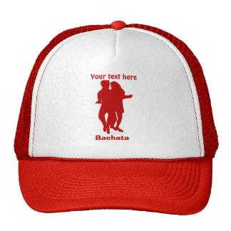 Bachata Bachata Dancers Silhouette Custom Hats