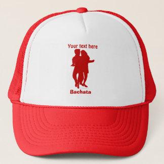 Bachata Bachata Dancers Silhouette Custom Trucker Hat