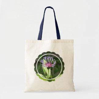 Bachelor Button Flower Photo Budget Tote Bag