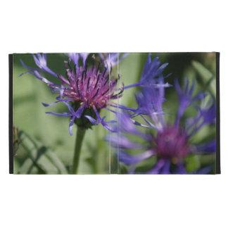 Bachelor Button Plant iPad Folio Covers