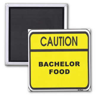 Bachelor Food Magnet