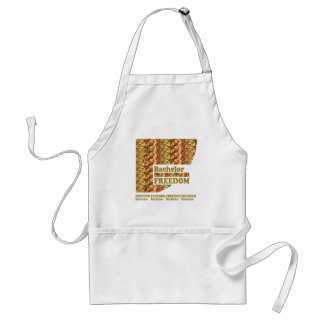 BACHELOR FREEDOM : Ideal Gift for ENGAGEMENT Apron