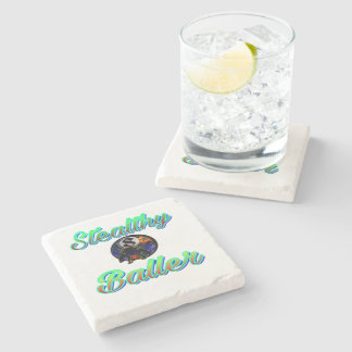 Bachelor gifts stone coaster