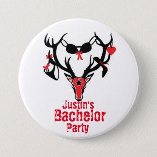 Bachelor Party Antler Pin