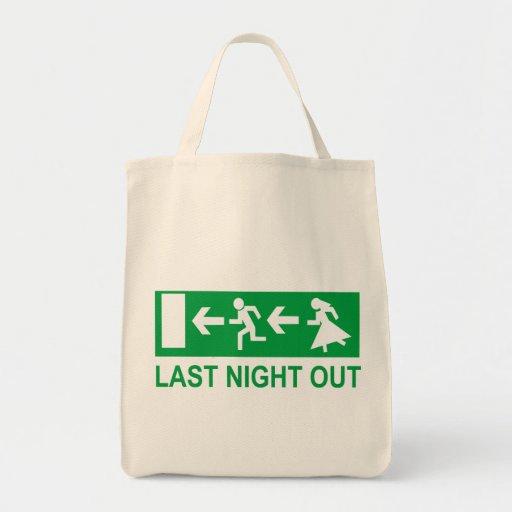 bachelor party canvas bag