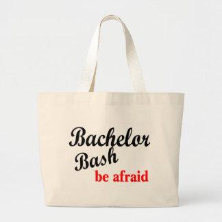 Bachelor Party Be Afraid Jumbo Tote Bag