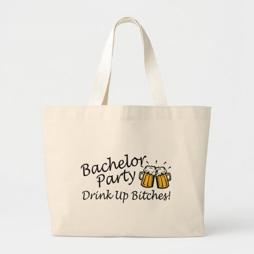 Bachelor Party Beer Jugs Canvas Bag