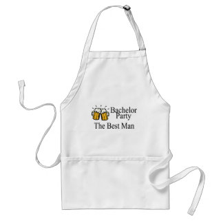 Bachelor Party Best Man (Beers) Standard Apron