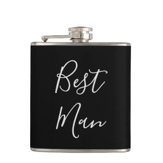 Bachelor party Best Man Hip Flask