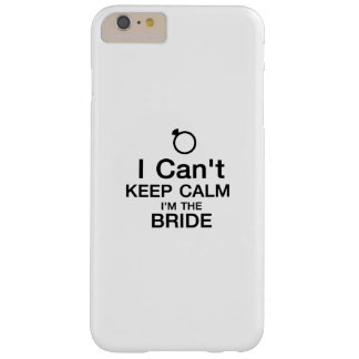 Bachelor Party Bride Team Bridesmaid wedding Barely There iPhone 6 Plus Case