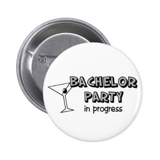 Bachelor Party buttons