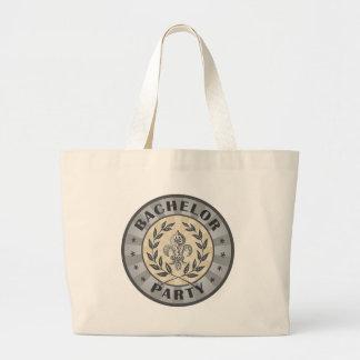Bachelor Party Crest Design Bags