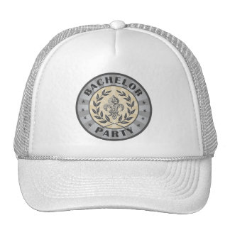 Bachelor Party Crest Design Cap