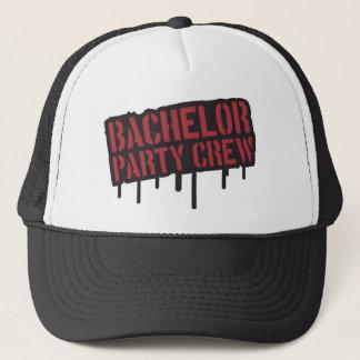"""Bachelor Party Crew"" Trucker Hat"