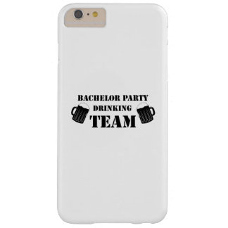 Bachelor Party Drinking Team Groom Fuuny Party Barely There iPhone 6 Plus Case
