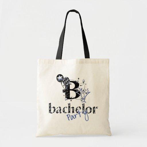 Bachelor Party Favors Canvas Bag