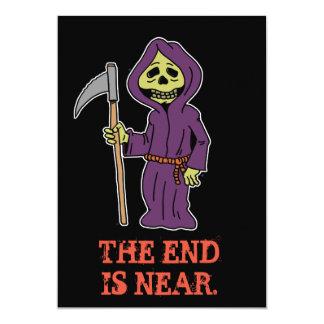 Bachelor Party Grim Reaper Invitation