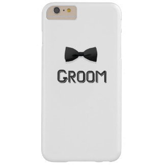 Bachelor Party  Groom With Bow Tie Pink Men Barely There iPhone 6 Plus Case