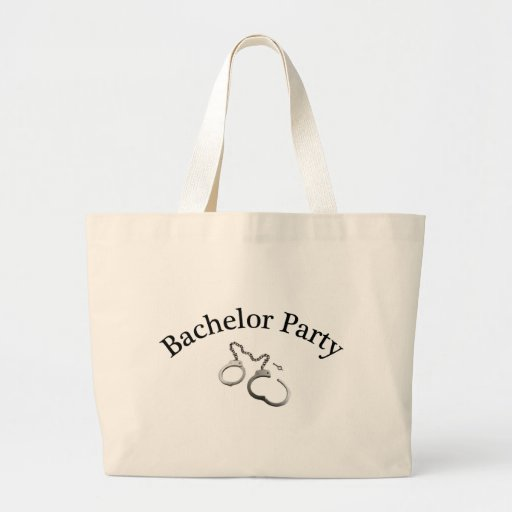 Bachelor Party Handcuffs Bags