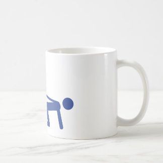 bachelor party icon basic white mug