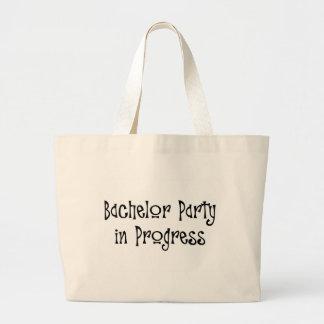 Bachelor Party In Progress 2 Jumbo Tote Bag