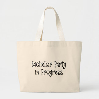 Bachelor Party In Progress Canvas Bags