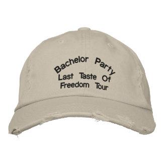 Bachelor Party Last Taste Of Freedom Tour Baseball Cap