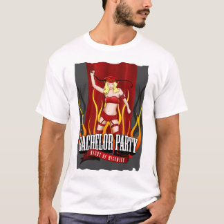 Bachelor Party - Night of Mischief T-Shirt