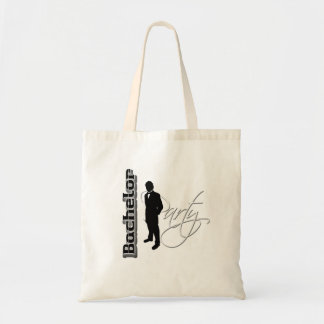 Bachelor party - thank you gifts from groom budget tote bag
