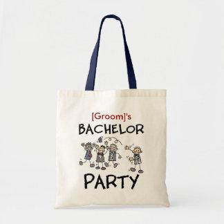 Bachelor Party Tote Bag Customizable