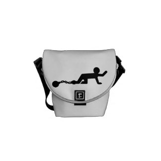 Bachelor Party Wedding slave Courier Bags