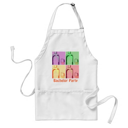Bachelor Party Wine Aprons