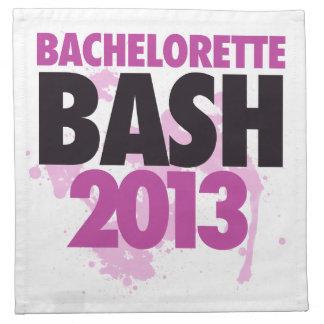 Bachelorette Bash 2013 Printed Napkin